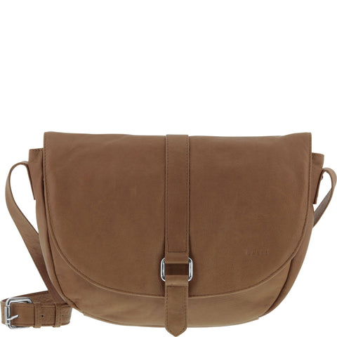 Hudson Soft Leather Saddle Crossbody