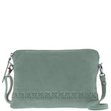 Addison Soft Leather Pouch Crossbody