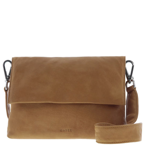 Mia Leather Triple Pouch Crossbody