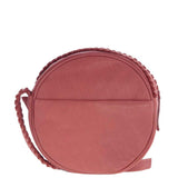 Mackenzie Whipstitch Soft Leather Circle Bag
