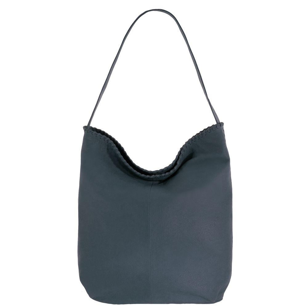 Aurora Leather Whipstitch Hobo