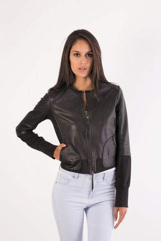 Ilona Leather Jacket-Gabee.com.au