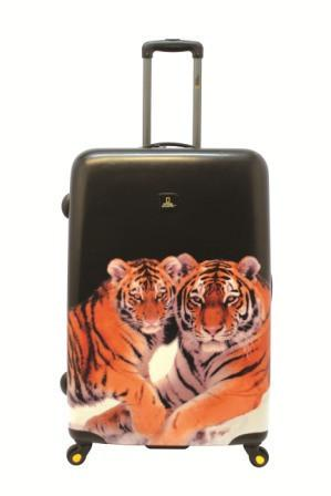 National Geographic-Tiger Hard Side Luggage-SET OF 2 49 & 71CM-Luggage |Gabee.com.au leather, Bags & Accessories since 1949