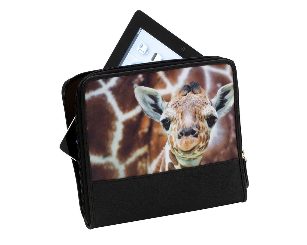 Gabee-Animal Print iPad Wallet--Tech Accessory - Gabee Bags | Gabee.com.au