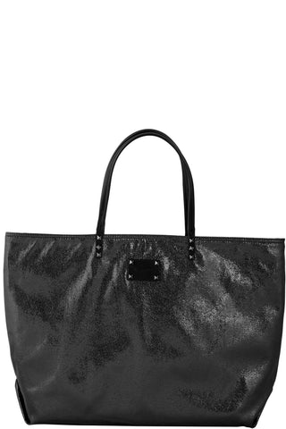 Monique-Camilla Metallic Reversible Tote-BLACK-Tote |Gabee.com.au leather, Bags & Accessories since 1949 - 1