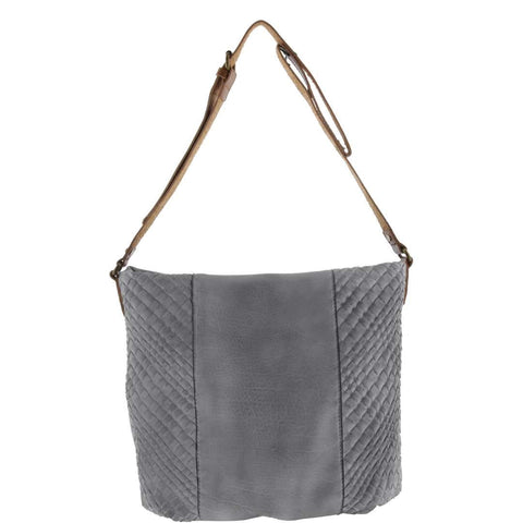 Chase Faux Leather Woven Crossbody Bag