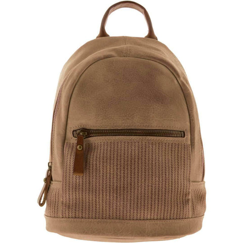 Frances Faux Leather Backpack