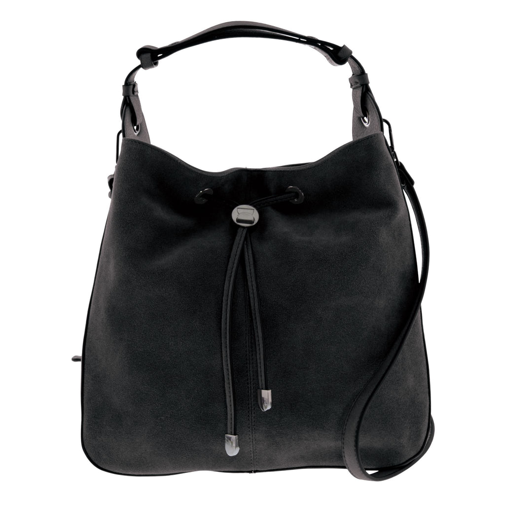 Arden Suede Leather Hobo