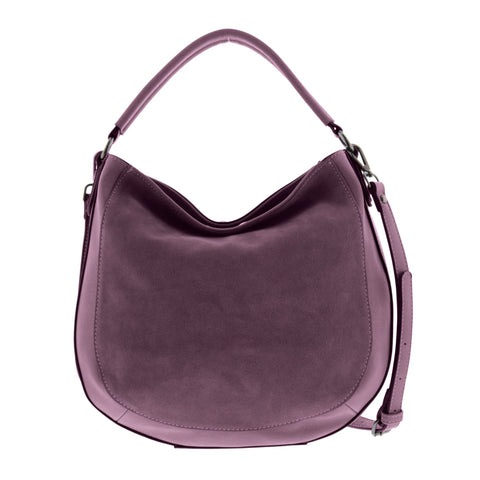 3c83a55456bd Emerson Suede Leather Hobo