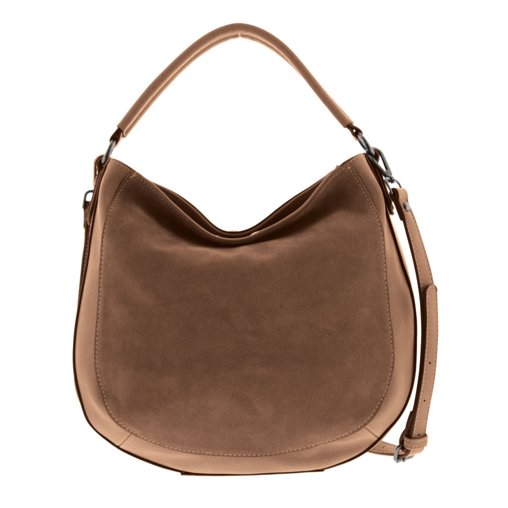 Emerson Suede Leather Hobo