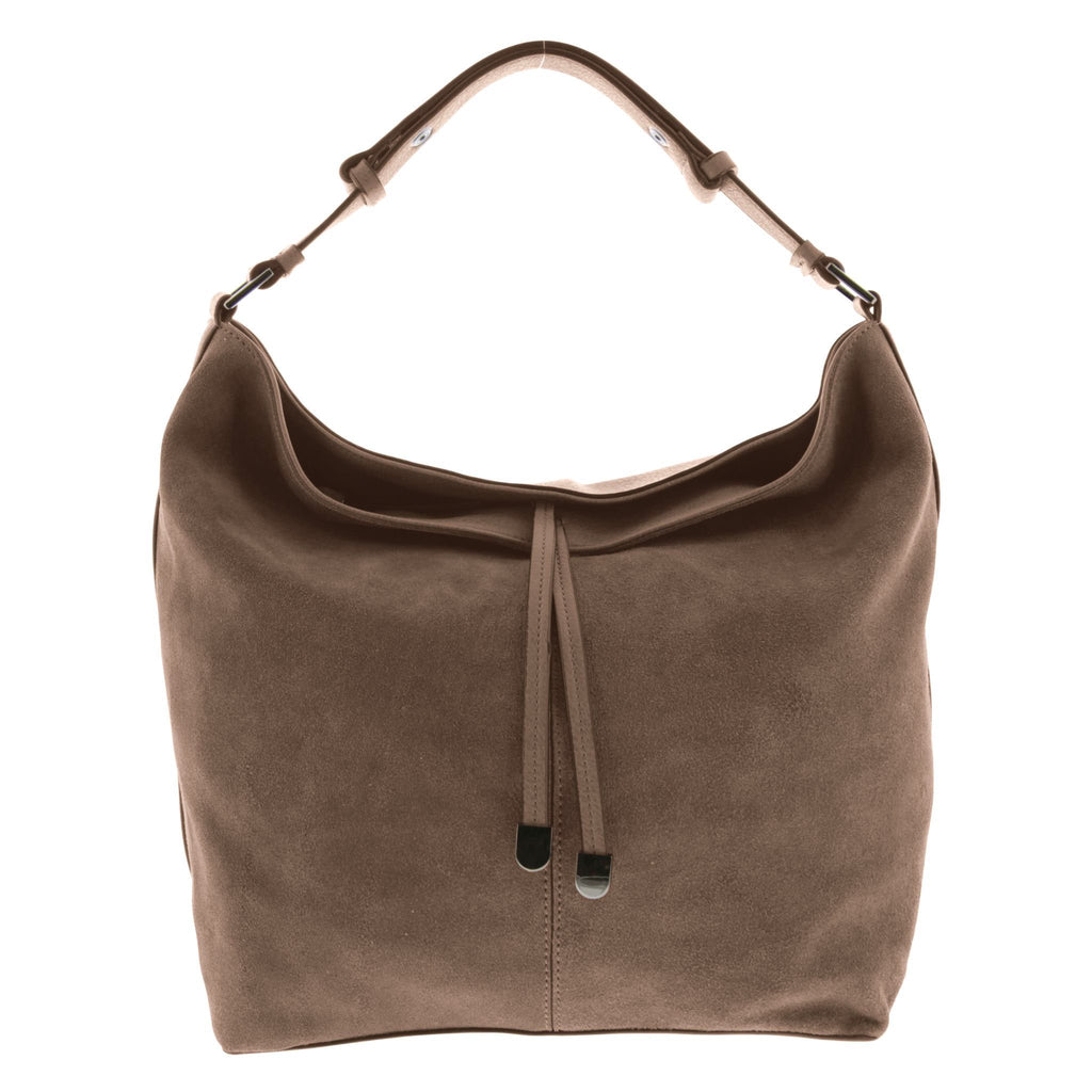Madigan Suede Leather Hobo