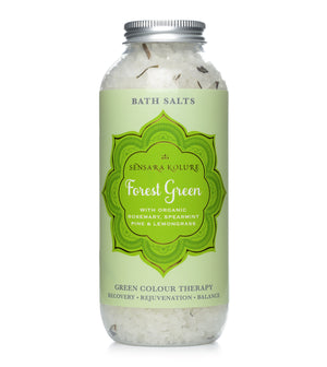 Forest Green Bath Salts - Recovery, Rejuvenation, Balance