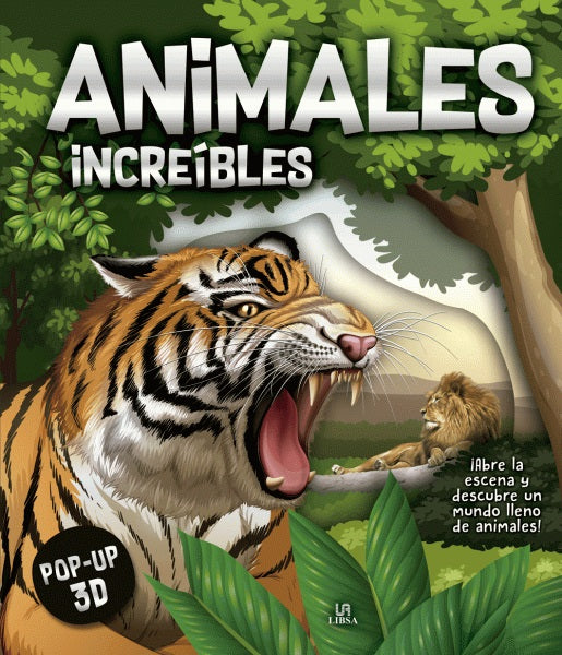 Animales Increíbles - Pop Up 3D