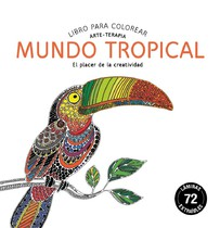 Mundo Tropical - Libro para colorear