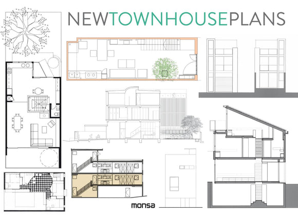New Town House Plans