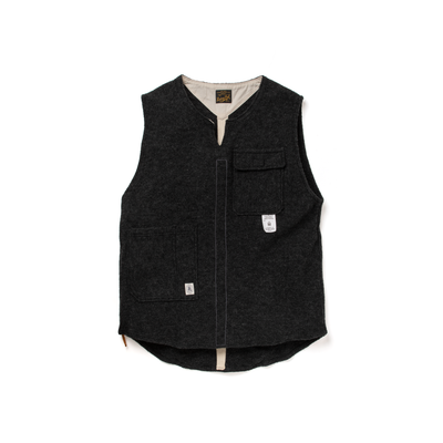 THE TOWN VEST - WOOL - B203-0602