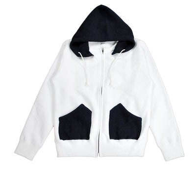 MERINGUE FLEECE ZIP PARKA - H183-0401