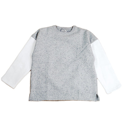 MERINGUE FLEECE CREW NECK - H183-0301