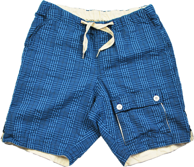 "THE TOWN SHORTS ""PLAID SUCKER"" - B202-0501"