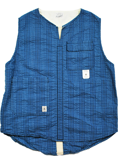 "THE TOWN VEST ""PLAID SUCKER"" - B202-0601"
