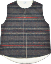 "THE TOWN VEST ""NEP BORDER"" - B202-0603"