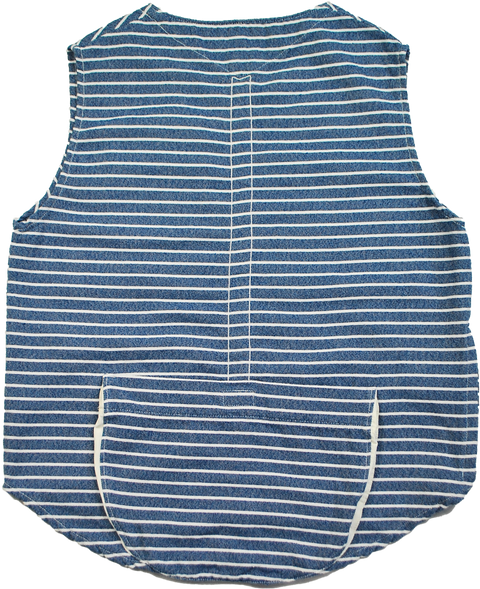 "THE TOWN VEST ""BORDER"" - B202-0604"