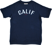 "LOWGAUGE INLAY S/S TEE ""CALIF"" - H201-0101"