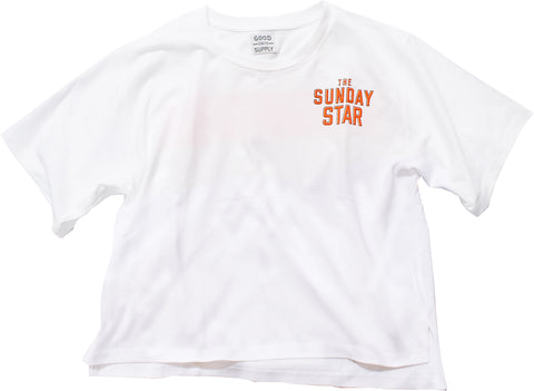 SUNDAY STAR TEE for ladies - R202-0902