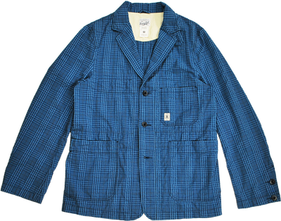 "HANG OUT JACKET ""PLAID"" - R201-0602"
