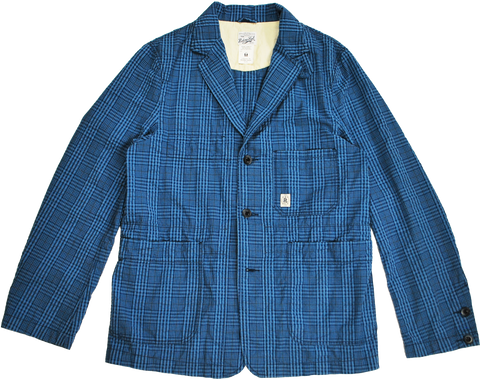 "HANG OUT JACKET ""PLAID SUCKER"" - R201-0602"