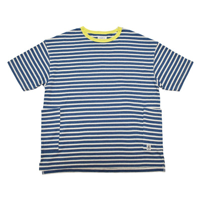 BORDER SIDE POCKET S/S TEE - R211-0103