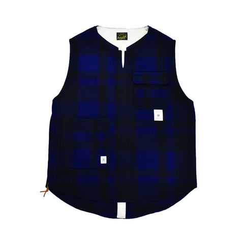 RDH STORE限定 THE TOWN VEST - PATTERN WOOL - B203-0611SP