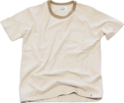 CUSTOM LW RINGER POCKET S/S TEE - R185-0101R