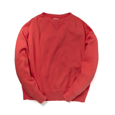 DUSTY COLOR CREW SWEAT - R193-0304