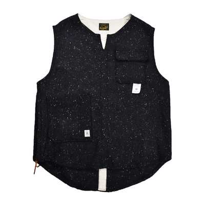 RDH STORE限定 THE TOWN VEST - NEP WOOL - B203-0609