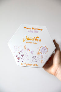 Honey Discovery Tasting Flight