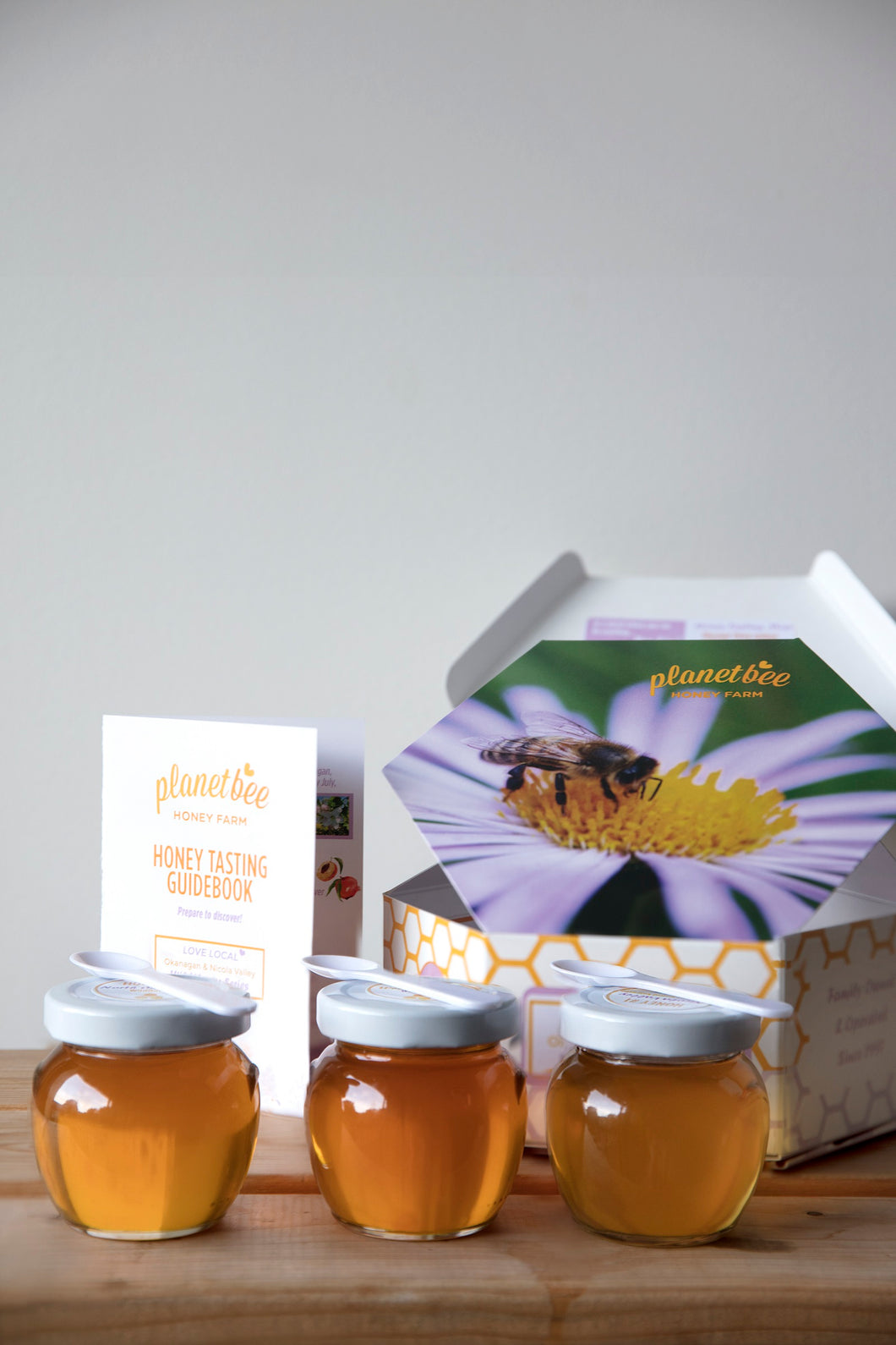 honey tasting flight canadian raw okanagan honey