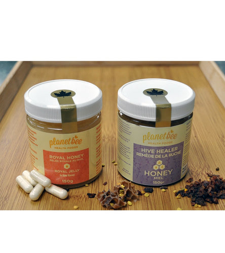 healing honey pollen propolis royal jelly raw honey made in canada superfood