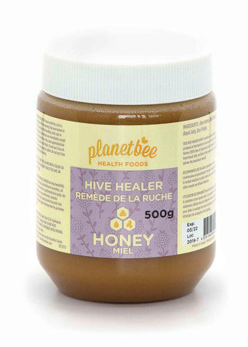 hive healer honey propolis pollen and royal jelly raw