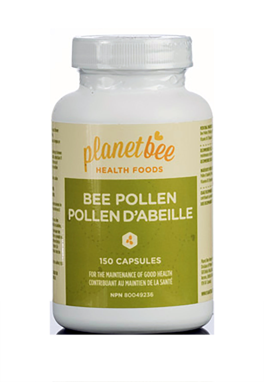 bee pollen vitamin suppliment capsule