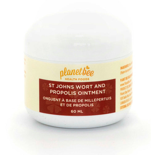 joint muscle ointment cream salve propolis st johns wort