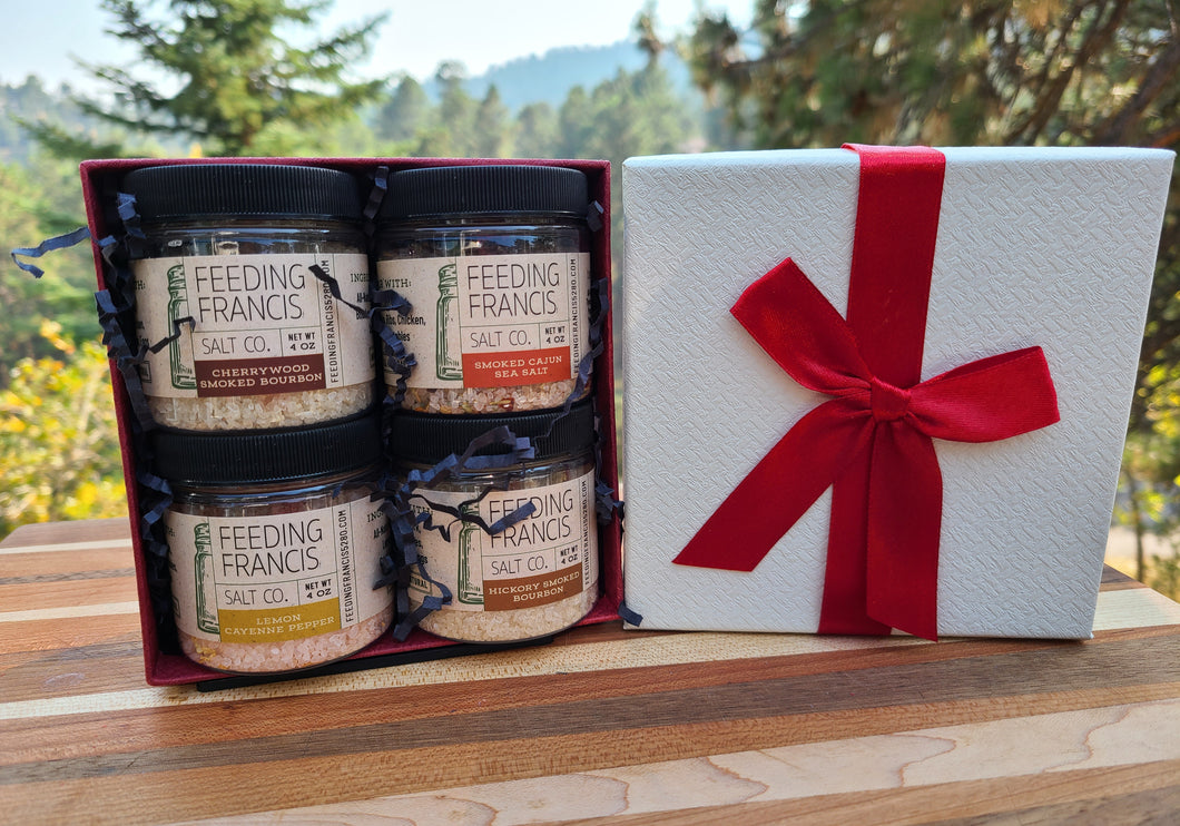 4 Jar Gift Set - All Occasions + Salt Price