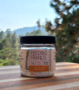 Citrus Zest Sea Salt (small grain) - 2.5oz & 4oz