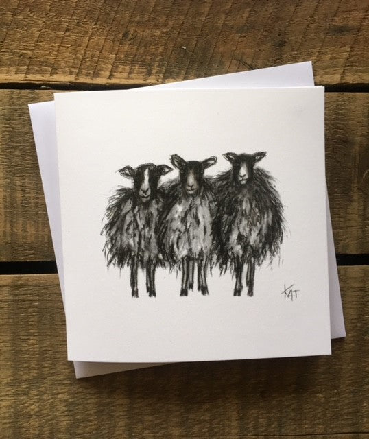 Olga, Helga and Wilga Greeting Card