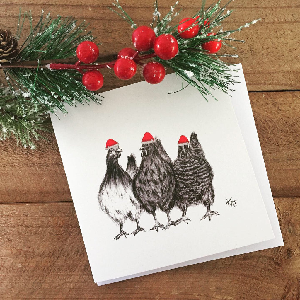 Hetty, Letty and Betty Christmas Card