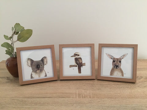 Australian Favourites Framed Set #1