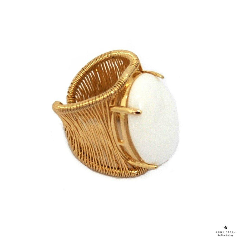 Filo D'oro Ring - White