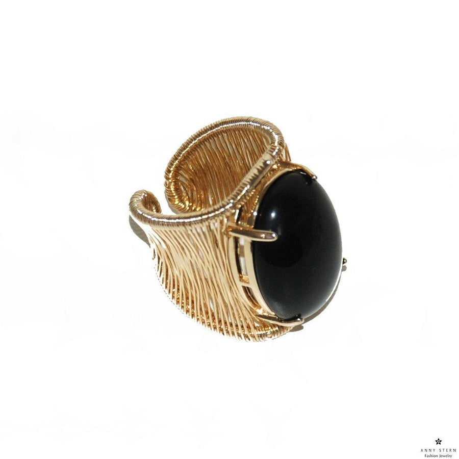 Filo D'oro Ring – Black Onyx