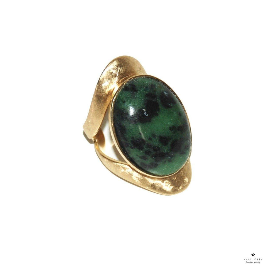 Allure Ring - Rubi Zoisite