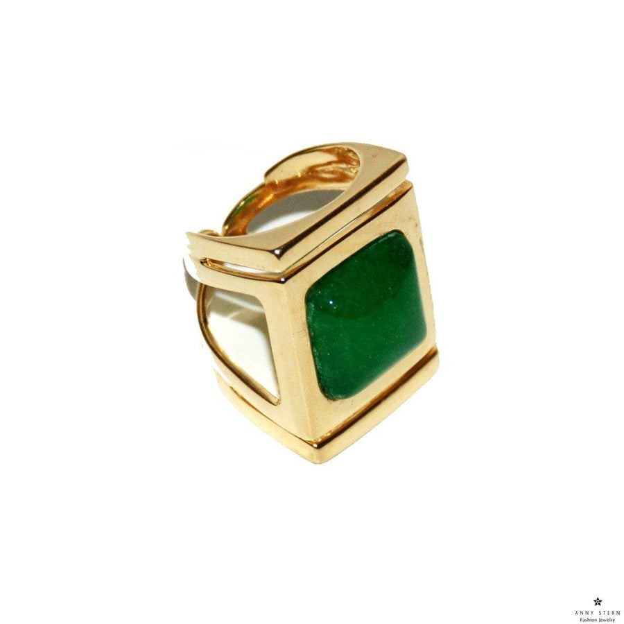 Architectural Ring - Jade